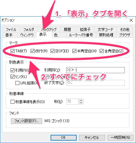 TeraPad_options.png